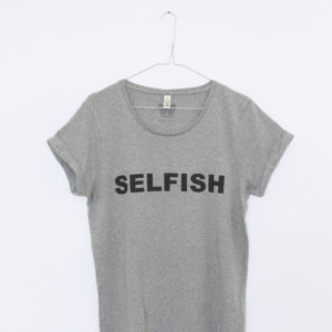 It's OK to be SELFISH!