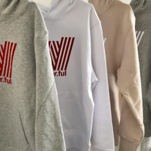 The WANDER.FUL logo hoodie is out!